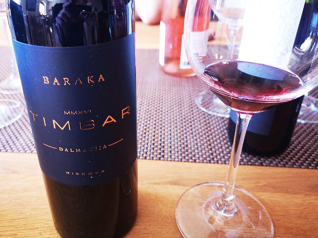 Wine Lover's Croatia - Baraka Timbar 2016