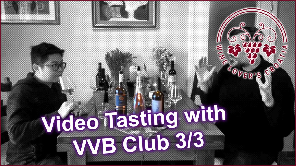 Croatian wine tasting with Bozidar and Kevin
